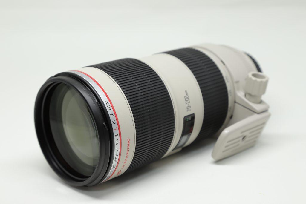 キヤノン70-200mmF2.8レンズ