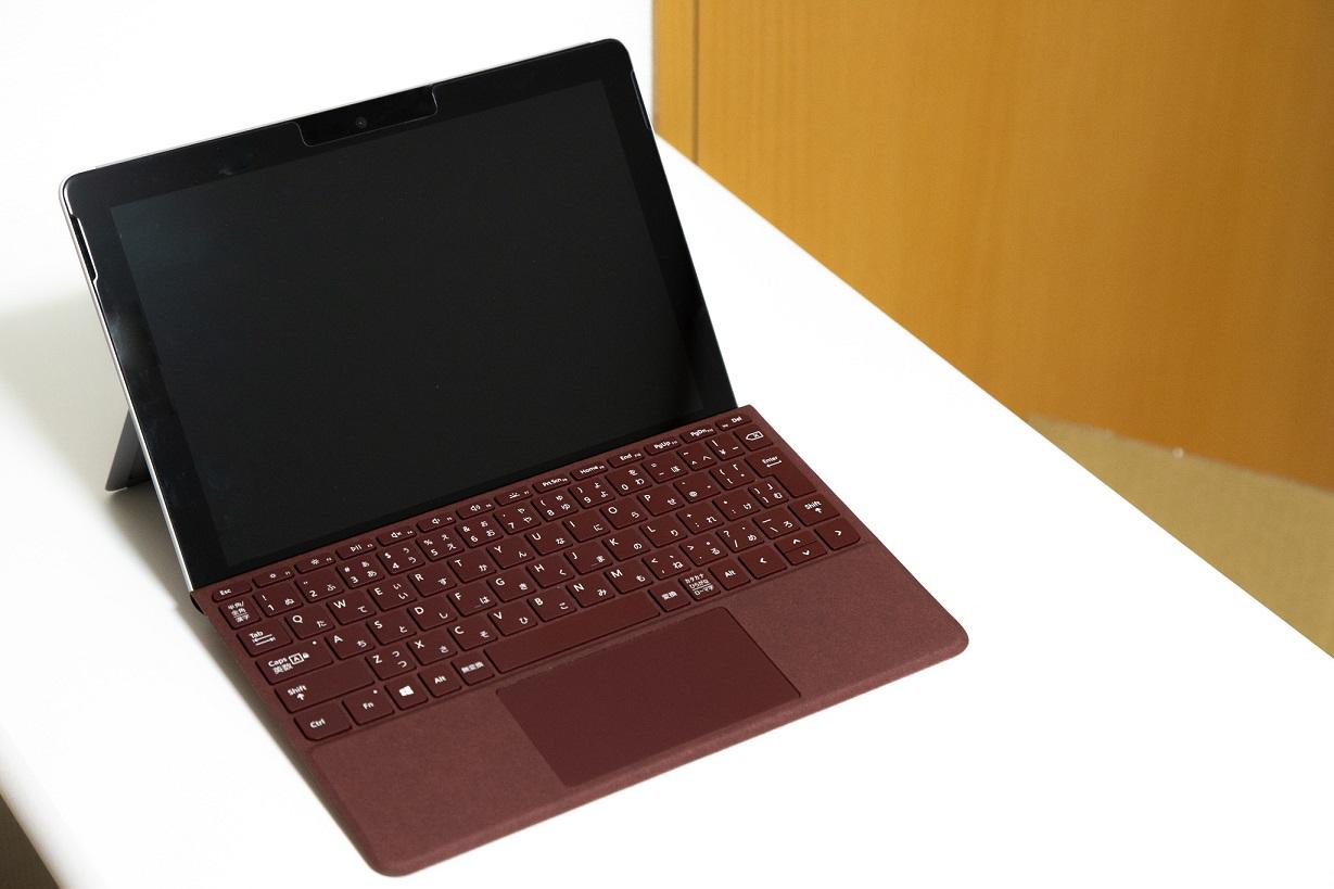 【レビュー】|Surface Go専用のタイプカバーは絶対買うべし