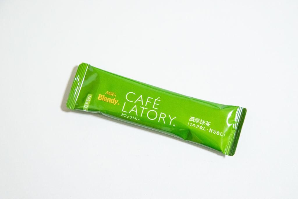 カフェラトリーのスティック濃厚抹茶