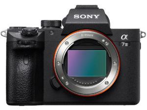 ソニーのフルサイズミラーレスカメラα7Ⅲ