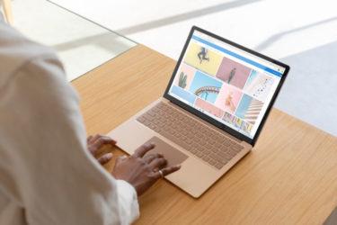 マイクロソフトのSurfaceLaptop3