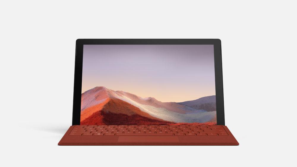 マイクロソフト社のタブレットSurfacePro7