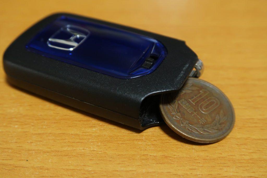 車のスマートキーの電池交換