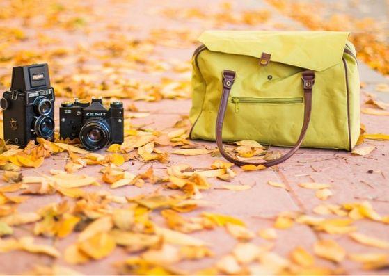 カメラバッグと撮影機材