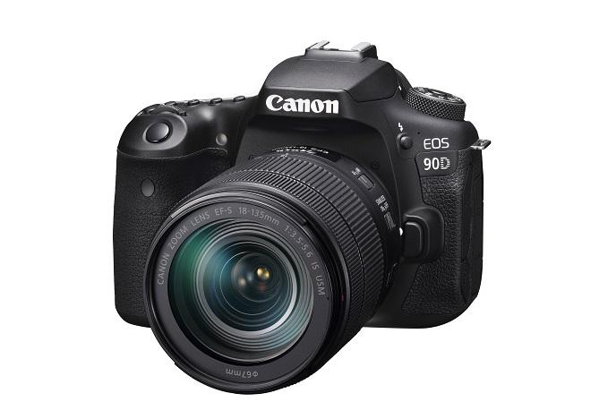 キヤノンの一眼レフカメラ90D