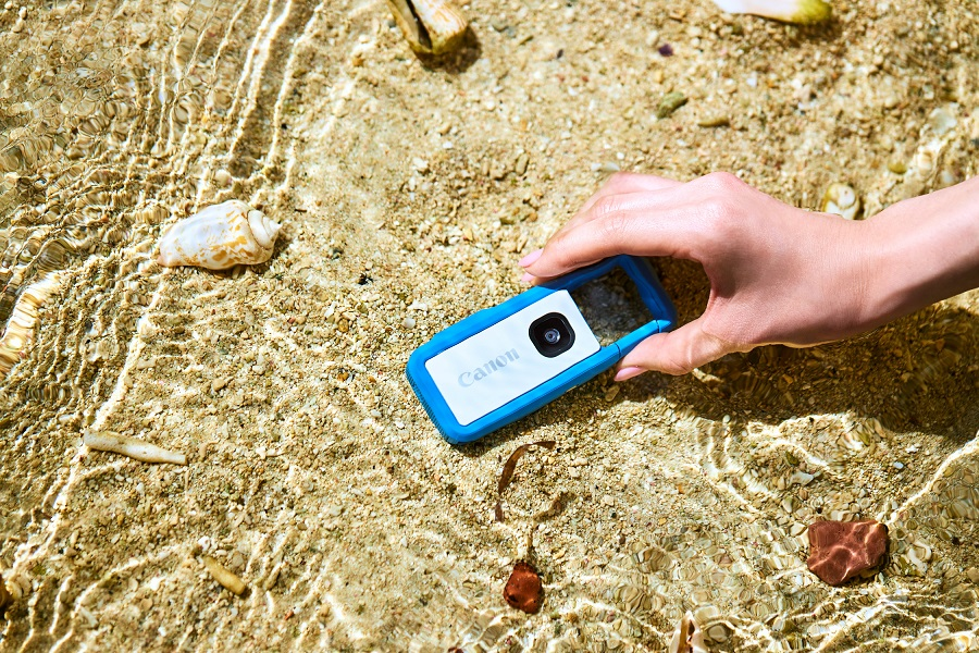 キヤノンのコンセプトカメラinspic-rec防水性能