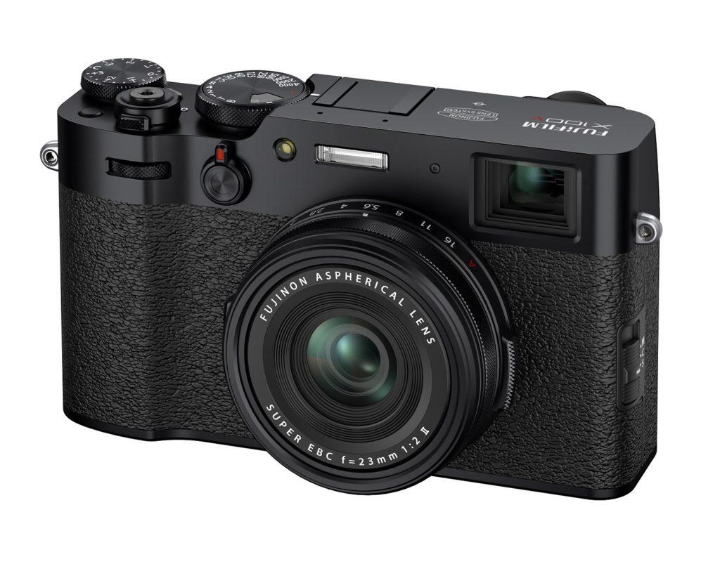 富士フィルムのコンパクトデジタルカメラX100Vのブラック
