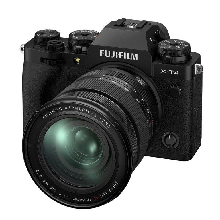 富士フイルムのミラーレスカメラX-T4のスペック比較記事画像