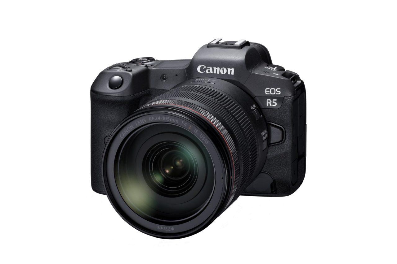 キヤノンのフルサイズミラーレスカメラEOS R5の開発発表とスペックなどの最新情報まとめ