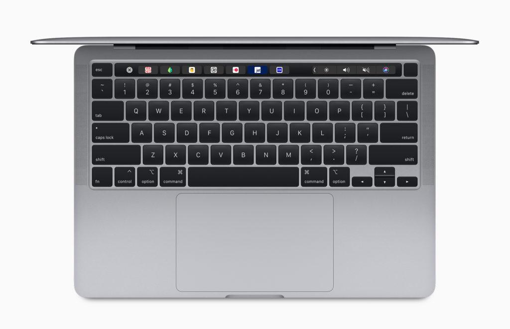 MacBook Proのシザー式キーボード
