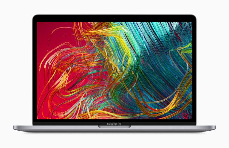 MacBook Pro 13インチ 2020年モデルのイメージ画像