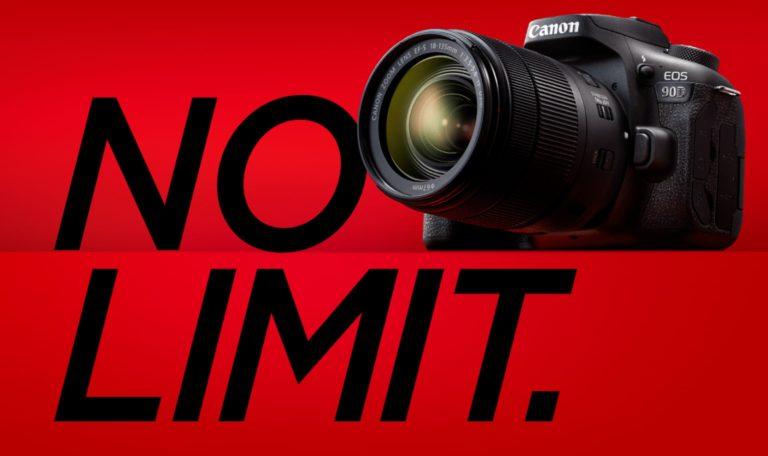キヤノンの一眼レフカメラEOS 90Dのイメージ画像