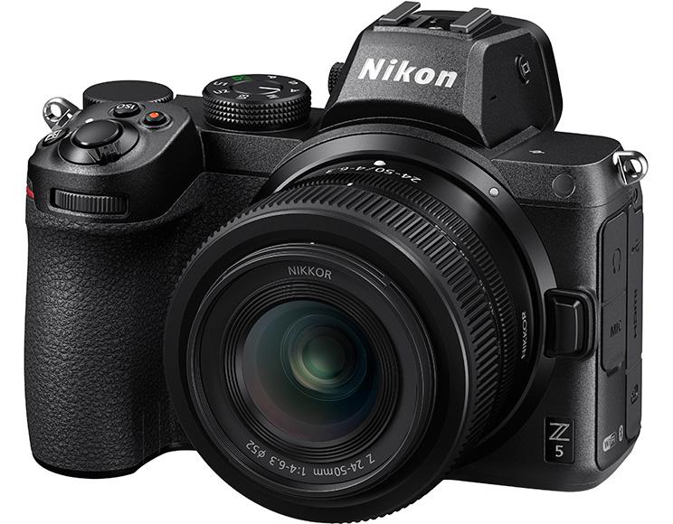 ニコンのフルサイズミラーレスカメラZ5のイメージ画像