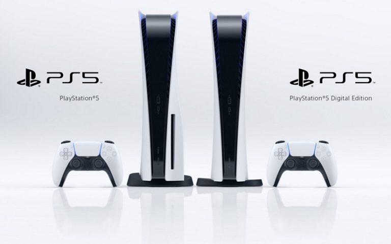 PS5通常モデルとデジタル・エディションのイメージ画像