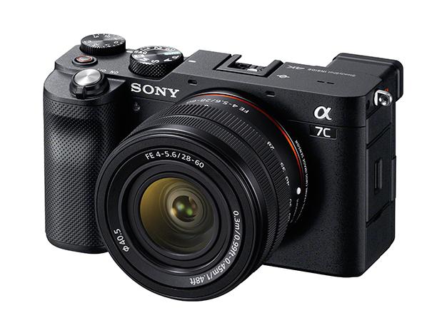 ソニーのフルサイズミラーレスカメラ「α7C」のイメージ画像