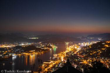 広島県尾道市の夜景