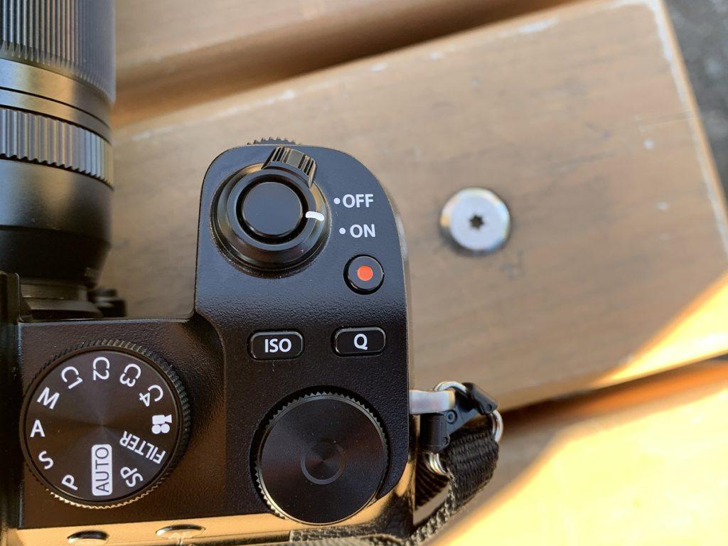 富士フイルムX-S10のグリップイメージ