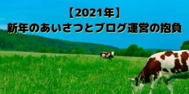 【2021年】新年のごあいさつとブログ運営の抱負まとめ