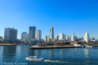横浜みなとみらいの風景写真