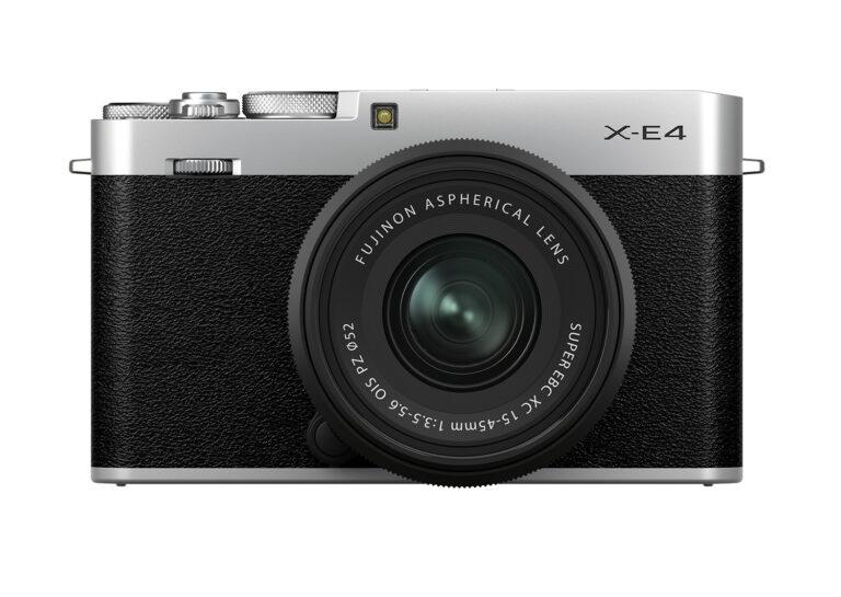 富士フイルムのミラーレスカメラX-E4本体