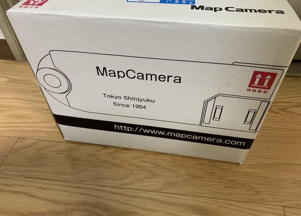 マップカメラのダンボール箱