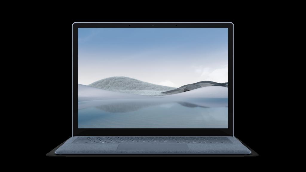 Surface Laptop 4の本体正面