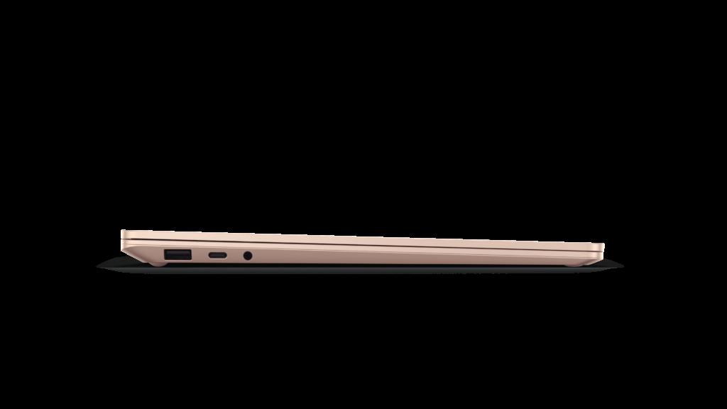 Surface Laptop 4の本体側面