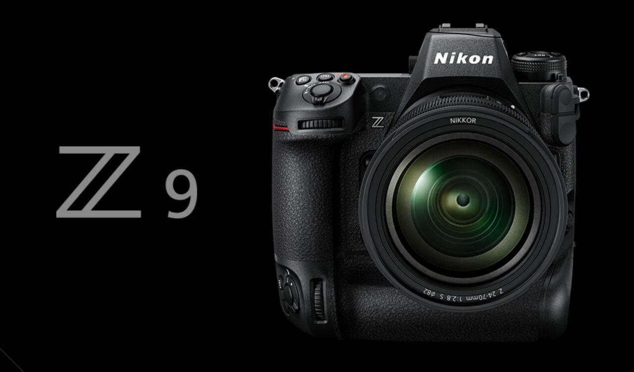 ニコン Z9のティザーサイトのイメージ画像
