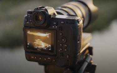 ニコン Z9のティザー動画第2弾のクリップ画像